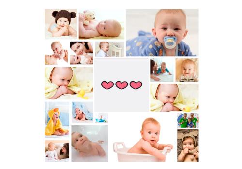 Foto Collage Tamaños