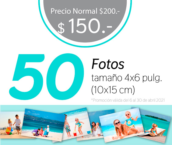 Promoción Impresión de Fotos